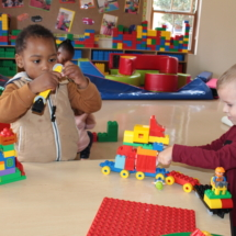 Christopher Robin Pre-Primary Creating with Lego