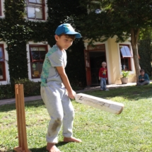 Christopher Robin Pre-Primary Cricket on The Lawn 3