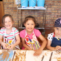 Christopher Robin Pre-Primary Happy Faces at Baking Class