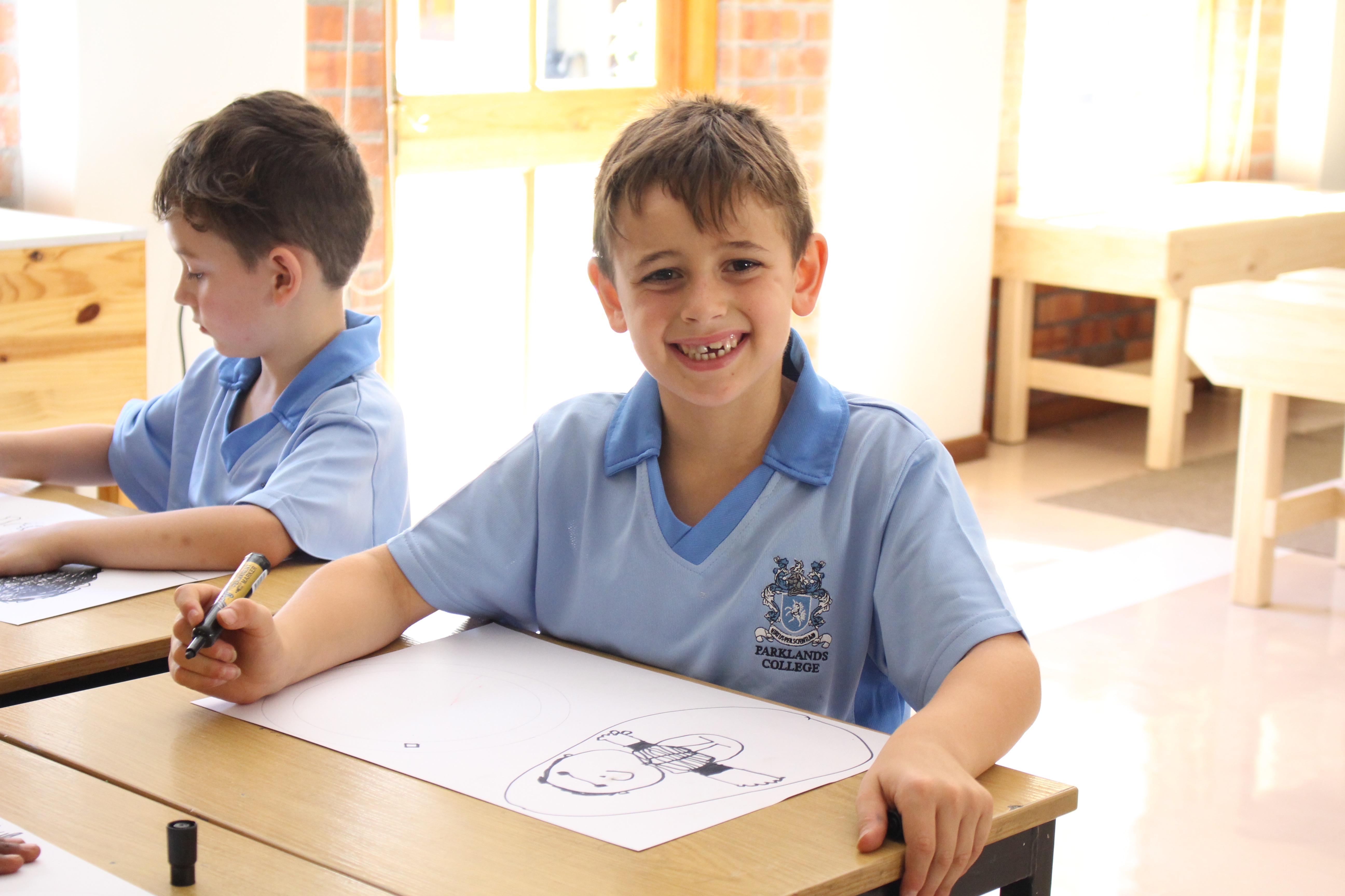 Parklands College Junior Preparatory Art Class 2