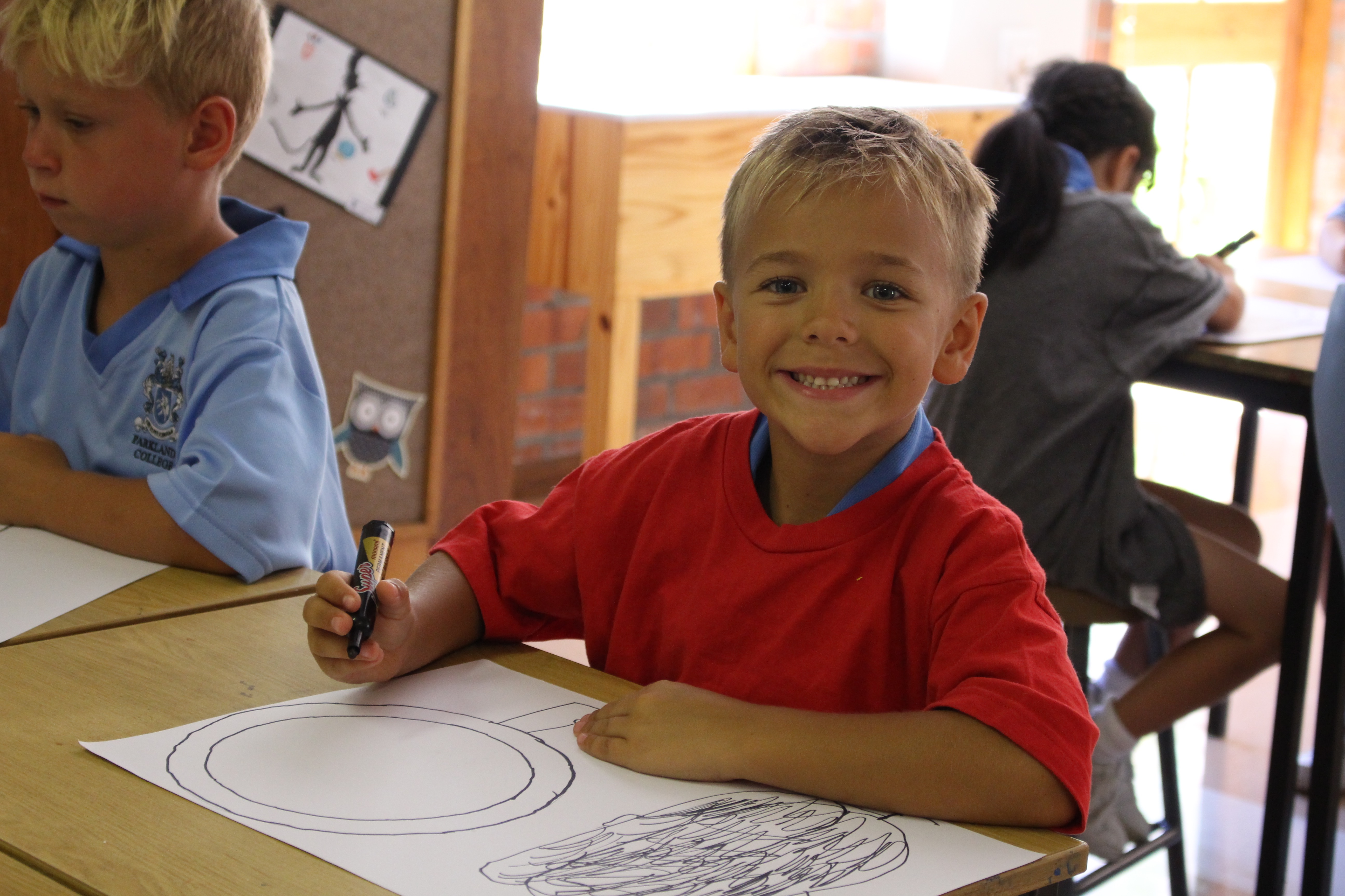 Parklands College Junior Preparatory Art Class