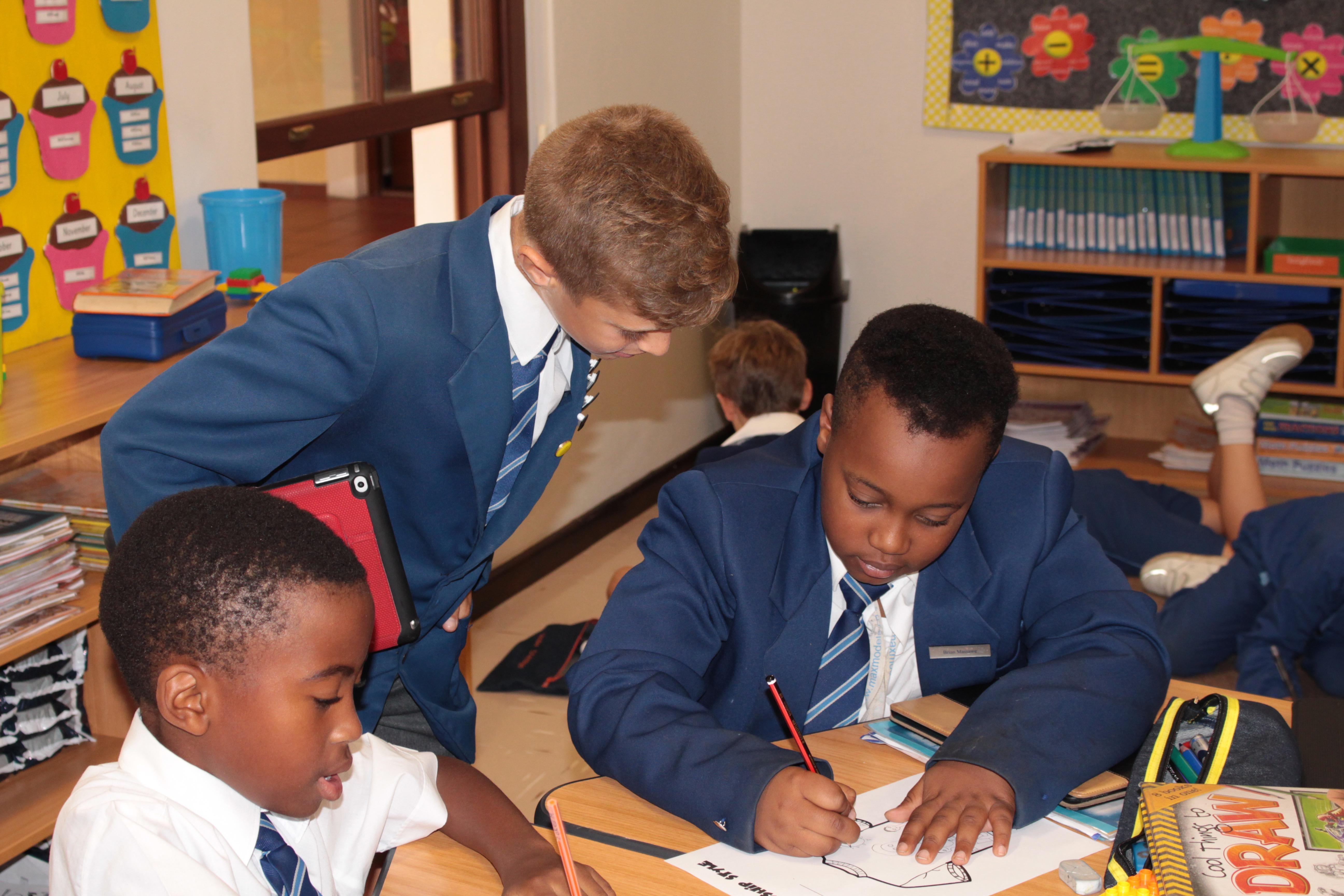 Parklands College Junior Preparatory Classroom Activities