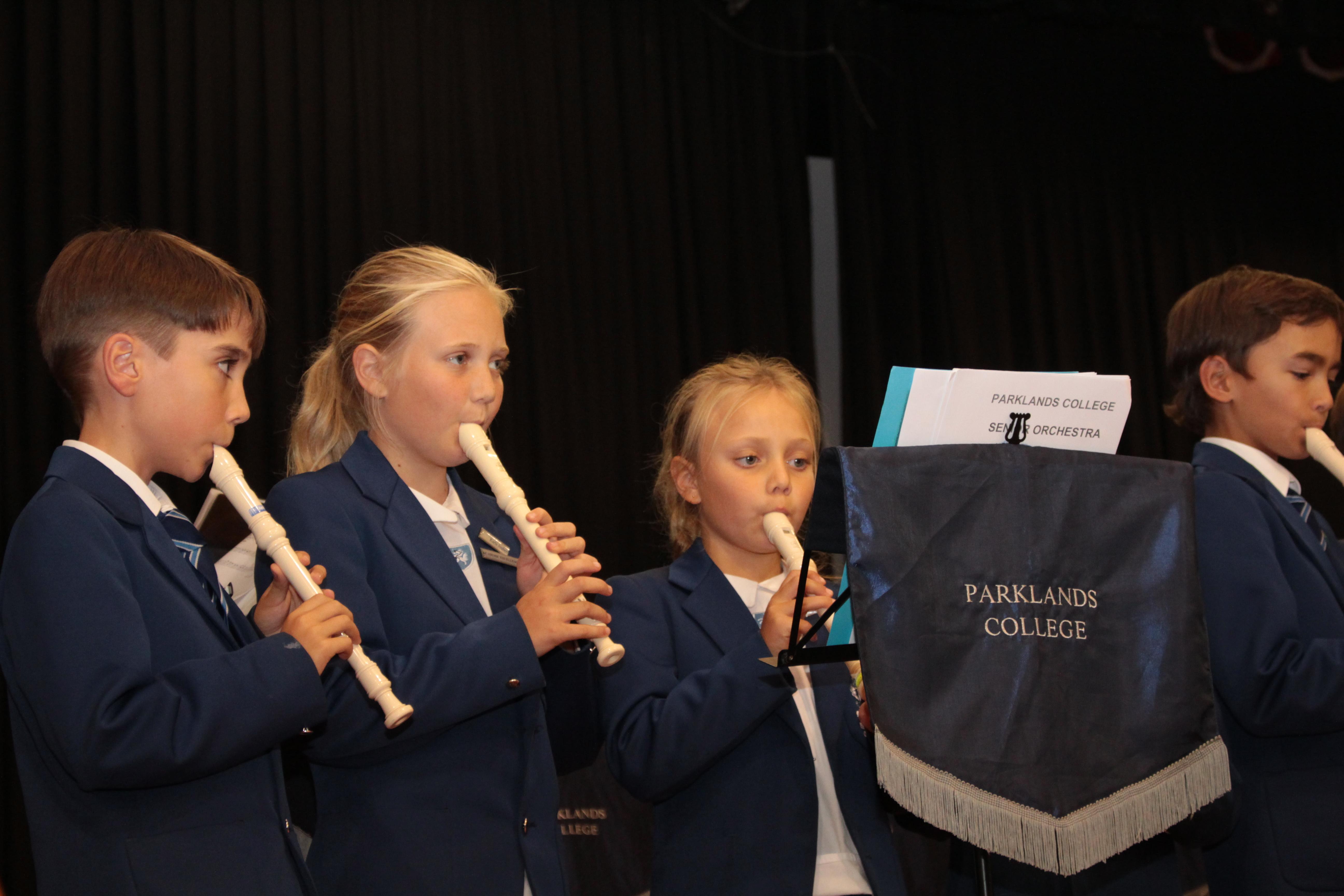 Parklands College Junior Preparatory Recorder 2
