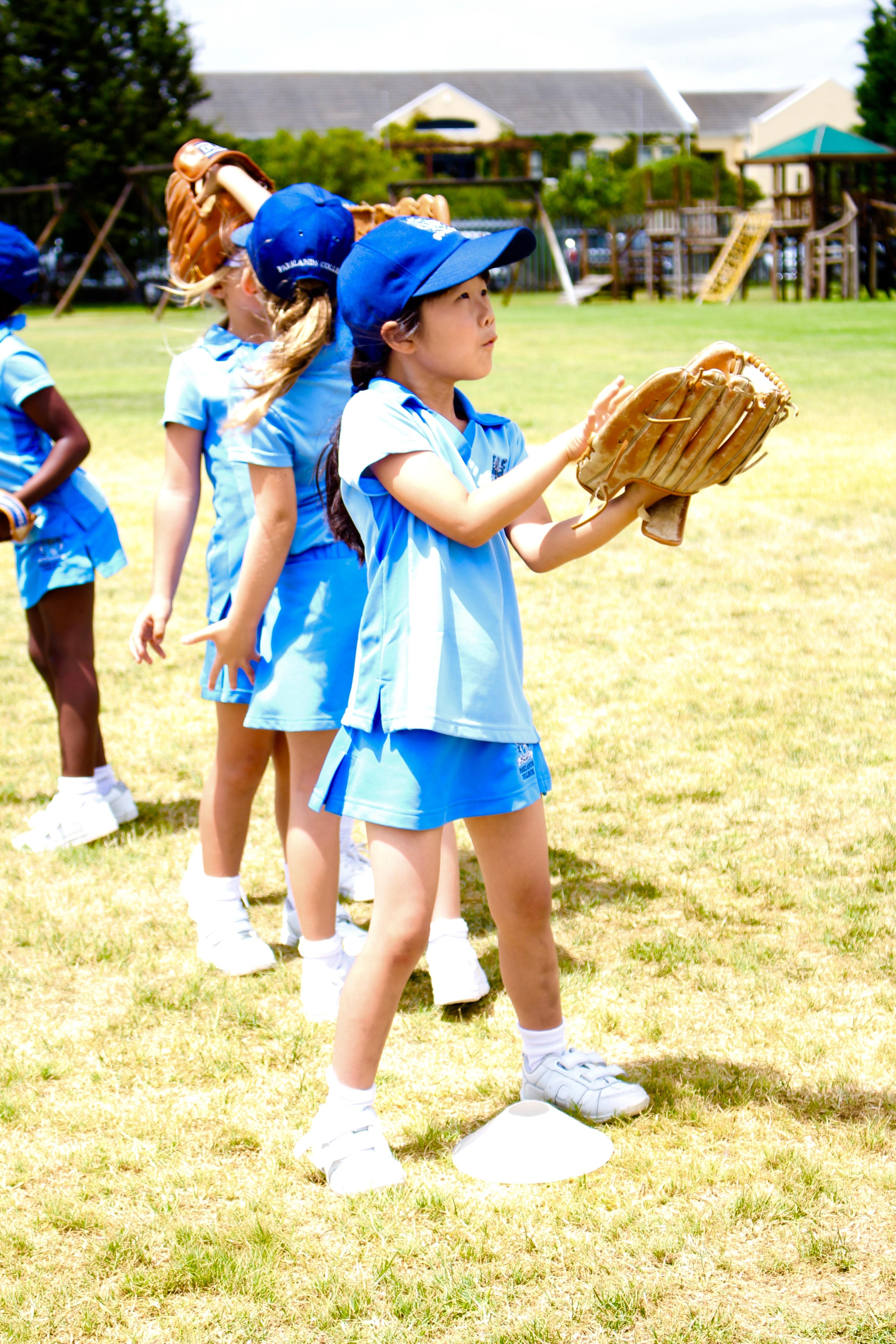 Parklands College Junior Preparatory Softball