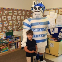 Parklands College Mascot Visit Christopher Robin Pre-Primary 3