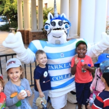 Parklands College Mascot Visit to Christopher Robin Pre-Primary 2
