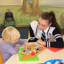 Parklands College Prefect Visit to Christopher Robin Pre-Primary 10