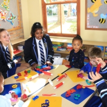 Parklands College Prefect Visit to Christopher Robin Pre-Primary 3