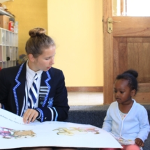 Parklands College Prefect Visit to Christopher Robin Pre-Primary 6