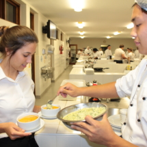 Parklands College Secondary Faculty Hospitality Restaurant Evening