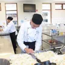 Parklands College Secondary Faculty Hospitality Restaurant Service 10