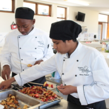 Parklands College Secondary Faculty Hospitality Restaurant Service 3