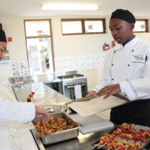 Parklands College Secondary Faculty Hospitality Restaurant Service 4