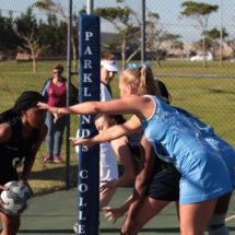 Parklands College Secondary Faculty Netball 5