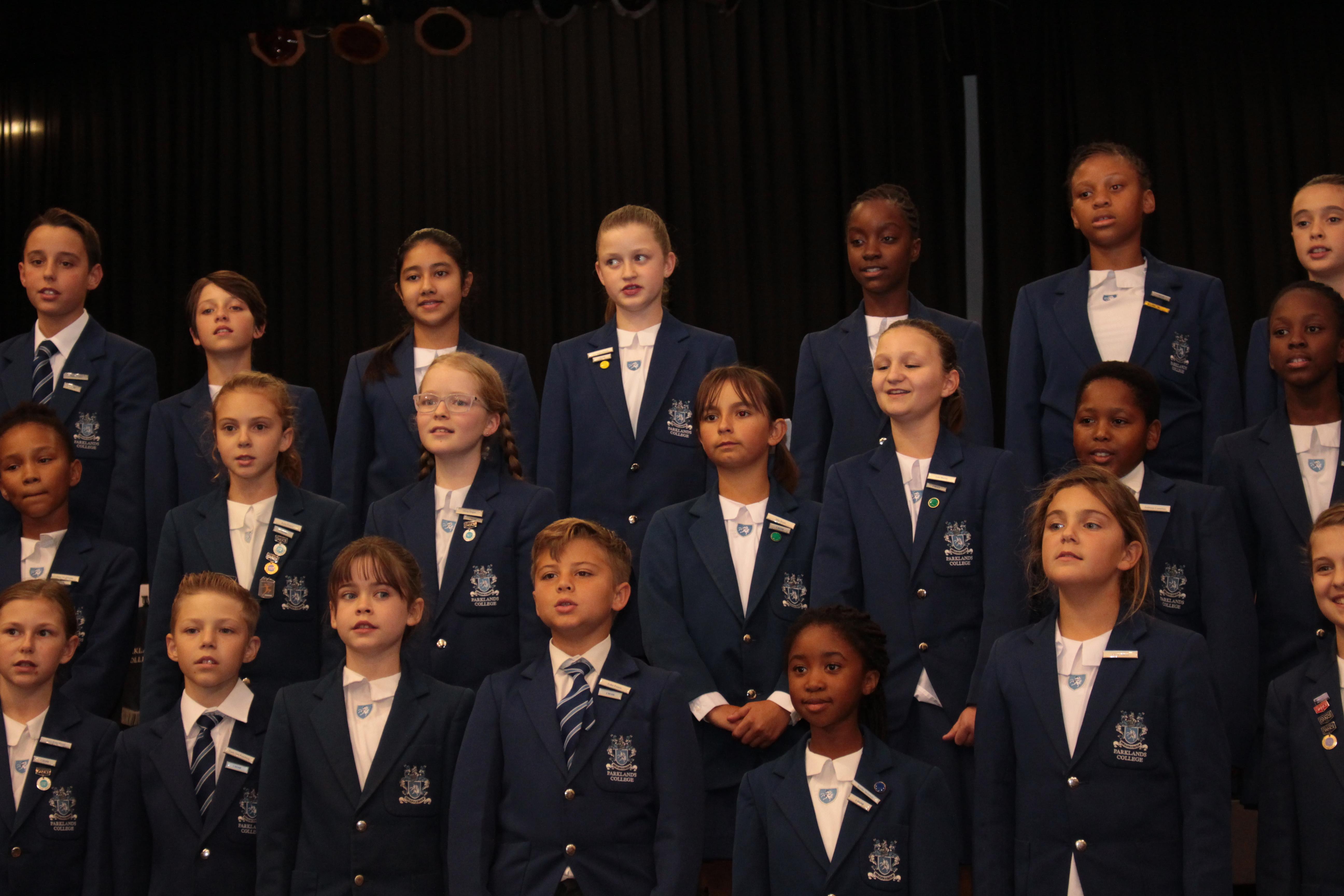 Parklands College Senior Preparatory Choir 3