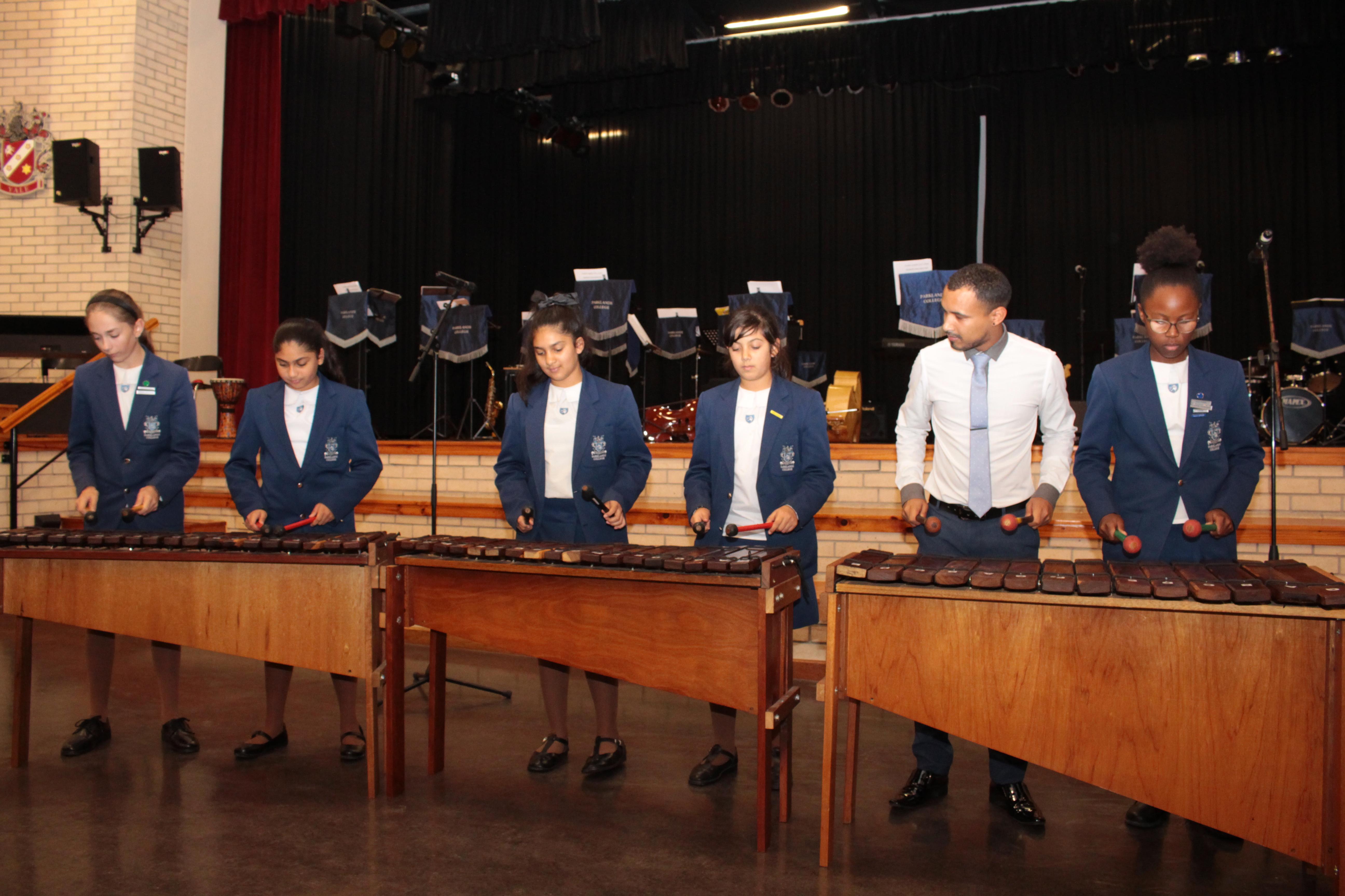 Parklands College Senior Preparatory Marimba 5