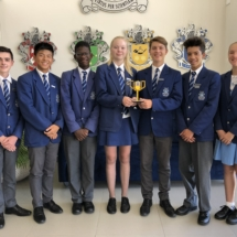 Parklands College Secondary First Lego League Winners