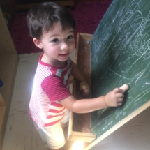 Christopher Robin Pre-Primary Chalk Board