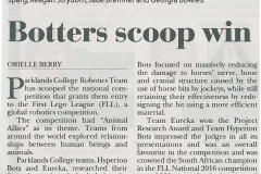 Botters scoop win
